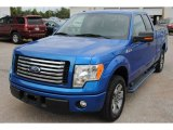 2011 Blue Flame Metallic Ford F150 XLT SuperCab #107603368