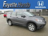 2012 Polished Metal Metallic Honda CR-V LX 4WD #107603361