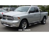 2012 Bright Silver Metallic Dodge Ram 1500 Big Horn Quad Cab 4x4 #107603335