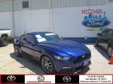 2015 Deep Impact Blue Metallic Ford Mustang GT Premium Coupe #107636465
