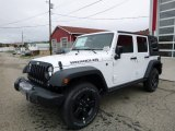 2016 Bright White Jeep Wrangler Unlimited Sport 4x4 #107636580