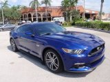 2015 Deep Impact Blue Metallic Ford Mustang GT Coupe #107636500