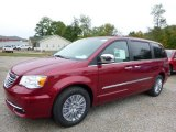 2016 Deep Cherry Red Crystal Pearl Chrysler Town & Country Touring-L #107636574
