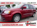 2016 Deep Cherry Red Crystal Pearl Chrysler Town & Country Touring #107659861