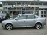 2008 Quartz Grey Metallic Audi A4 2.0T quattro Sedan #10731756