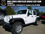 2016 Bright White Jeep Wrangler Unlimited Sport 4x4 #107659833