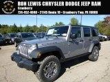 2016 Billet Silver Metallic Jeep Wrangler Unlimited Rubicon 4x4 #107659828