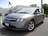 2006 Galaxy Gray Metallic Honda Civic EX Sedan #10720885