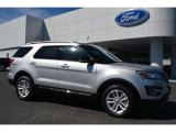 2016 Ingot Silver Metallic Ford Explorer XLT #107685512