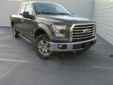 2015 Magnetic Metallic Ford F150 XLT SuperCab 4x4 #107685633