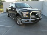 2015 Tuxedo Black Metallic Ford F150 XLT SuperCrew #107685629