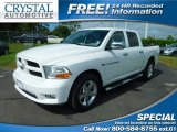 2012 Bright White Dodge Ram 1500 Express Crew Cab #107724792