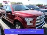 2015 Ruby Red Metallic Ford F150 Platinum SuperCrew 4x4 #107724484