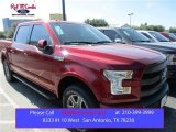 2015 Ruby Red Metallic Ford F150 Lariat SuperCrew 4x4 #107724483
