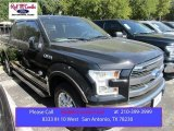 2015 Tuxedo Black Metallic Ford F150 King Ranch SuperCrew #107724481