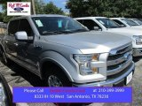 2015 Ingot Silver Metallic Ford F150 Lariat SuperCrew #107724480