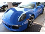 2016 Porsche 911 Club Blau, Blue Paint to Sample