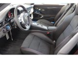 2016 Porsche 911 GTS Club Coupe Front Seat