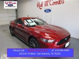 2015 Ruby Red Metallic Ford Mustang EcoBoost Coupe #107724521