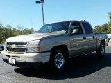 2006 Sandstone Metallic Chevrolet Silverado 1500 LS Crew Cab #107724372