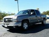 2006 Graystone Metallic Chevrolet Silverado 1500 LT Crew Cab #107724371