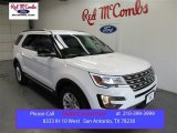 2016 Oxford White Ford Explorer XLT #107724498