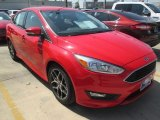 2015 Race Red Ford Focus SE Sedan #107724495