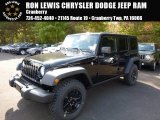2016 Black Jeep Wrangler Unlimited Willys Wheeler 4x4 #107761790