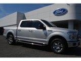 2015 Ingot Silver Metallic Ford F150 XLT SuperCrew #107761865