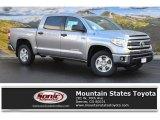 2016 Silver Sky Metallic Toyota Tundra SR5 CrewMax 4x4 #107761619