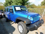 2016 Jeep Wrangler Unlimited Hydro Blue Pearl