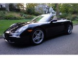 2012 Basalt Black Metallic Porsche 911 Carrera Cabriolet #107761697
