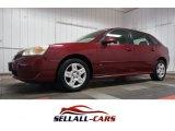 2007 Sport Red Metallic Chevrolet Malibu Maxx LT Wagon #107761604