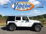 2016 Bright White Jeep Wrangler Unlimited Rubicon 4x4 #107762137