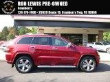 2014 Deep Cherry Red Crystal Pearl Jeep Grand Cherokee Overland 4x4 #107761808