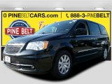 2016 Brilliant Black Crystal Pearl Chrysler Town & Country Touring #107761665