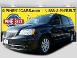 2016 Brilliant Black Crystal Pearl Chrysler Town & Country Touring #107761664
