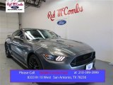 2016 Magnetic Metallic Ford Mustang GT Coupe #107761720