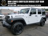 2016 Bright White Jeep Wrangler Unlimited Sport 4x4 #107761968