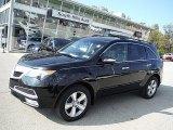 2011 Crystal Black Pearl Acura MDX  #107761874