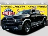 2012 Black Dodge Ram 1500 Laramie Crew Cab 4x4 #107797217