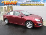 2016 Siren Red Tintcoat Chevrolet Cruze Limited LT #107797289