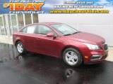 2016 Siren Red Tintcoat Chevrolet Cruze Limited LT #107797288