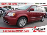 2016 Deep Cherry Red Crystal Pearl Chrysler Town & Country Touring #107797427