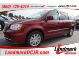2016 Deep Cherry Red Crystal Pearl Chrysler Town & Country Touring #107797421