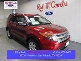2013 Ruby Red Metallic Ford Explorer FWD #107797362