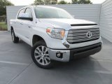 2016 Super White Toyota Tundra Limited CrewMax #107797596