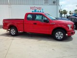 2015 Race Red Ford F150 XL SuperCab #107797317