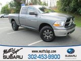 2012 Mineral Gray Metallic Dodge Ram 1500 SLT Quad Cab 4x4 #107797643