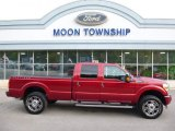 2015 Ruby Red Ford F250 Super Duty Platinum Crew Cab 4x4 #107797551